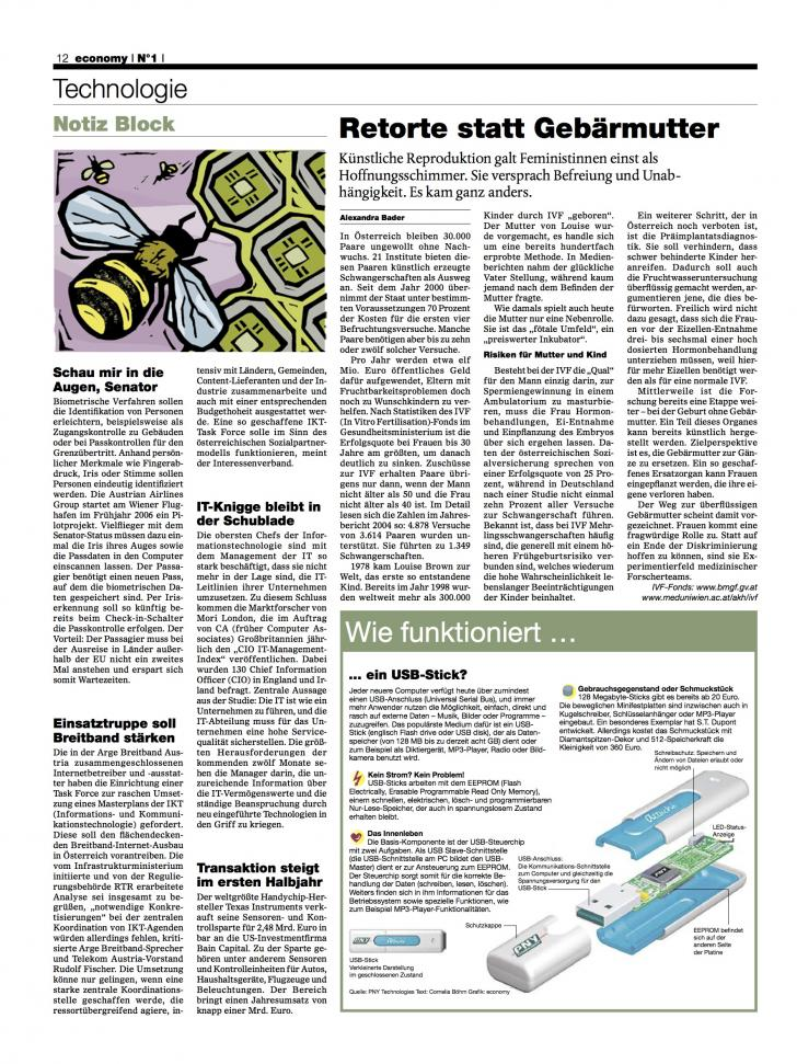 Heft Ausgabe Nr. 01 - Seite 12