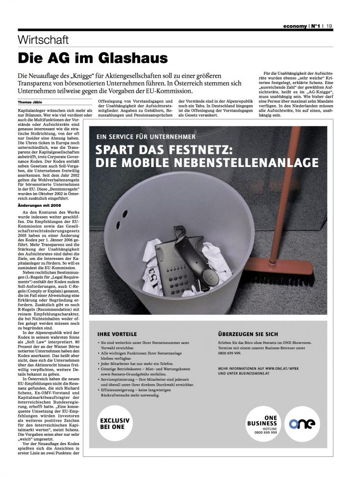 Heft Ausgabe Nr. 01 - Seite 19