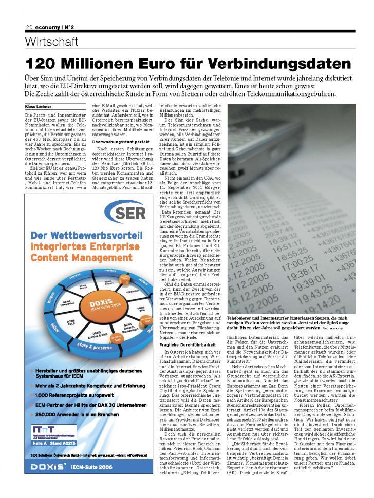 Heft Ausgabe Nr. 02 - Seite 20