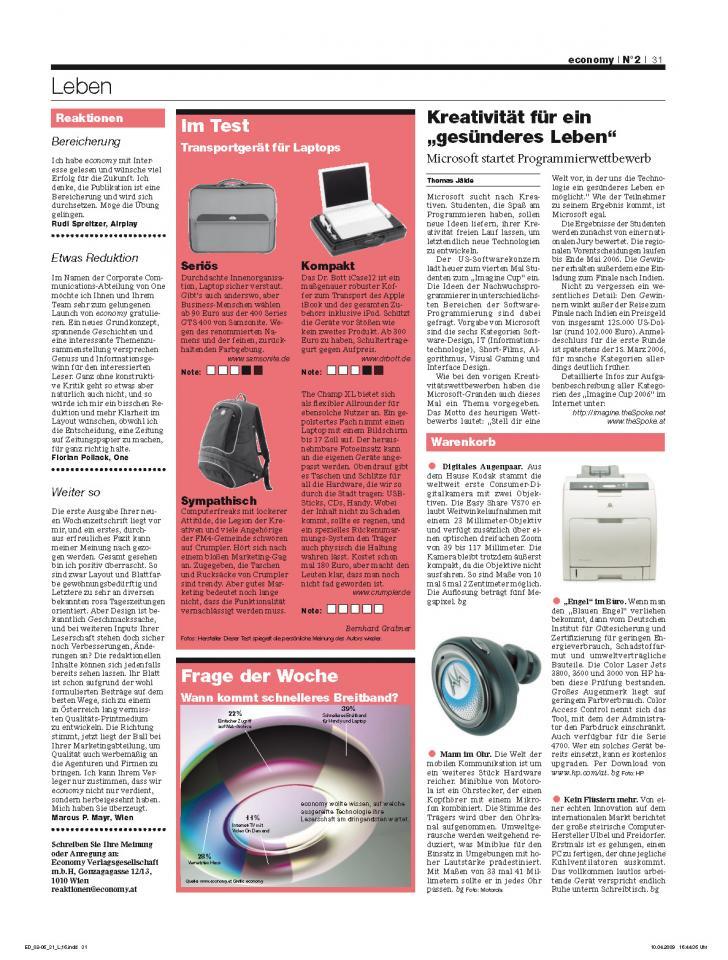 Heft Ausgabe Nr. 02 - Seite 31
