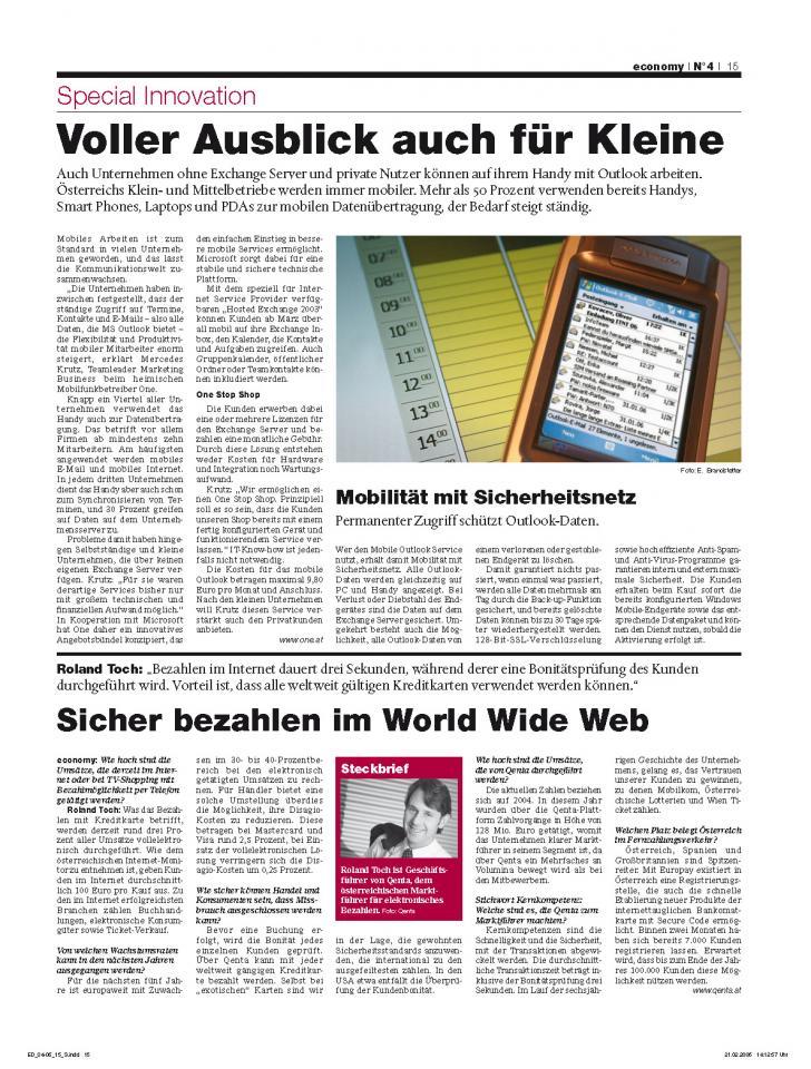 Heft Ausgabe Nr. 04 - Seite 15