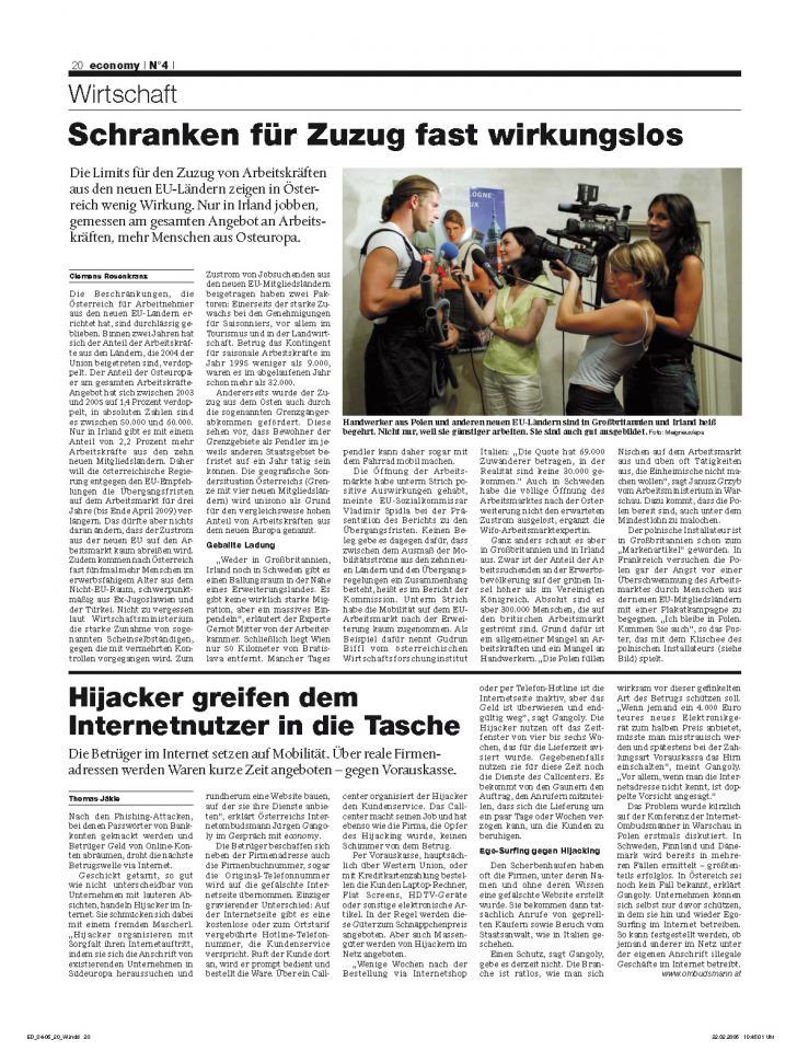Heft Ausgabe Nr. 04 - Seite 20