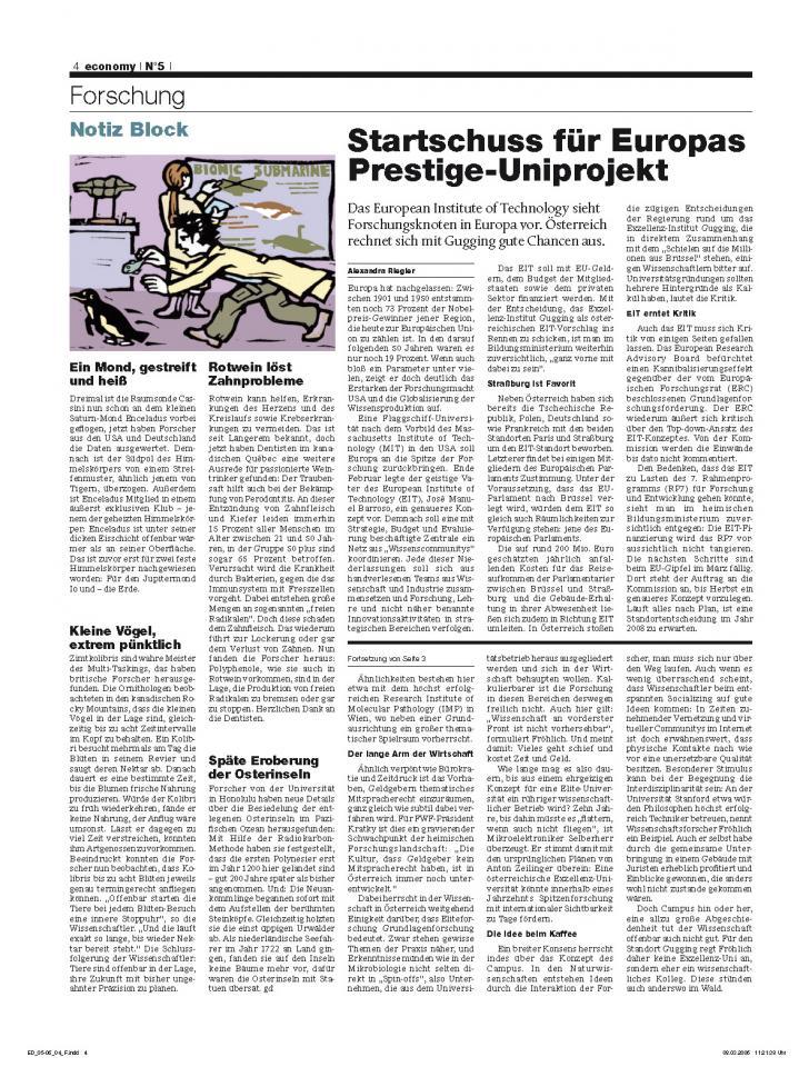 Heft Ausgabe Nr. 05 - Seite 4