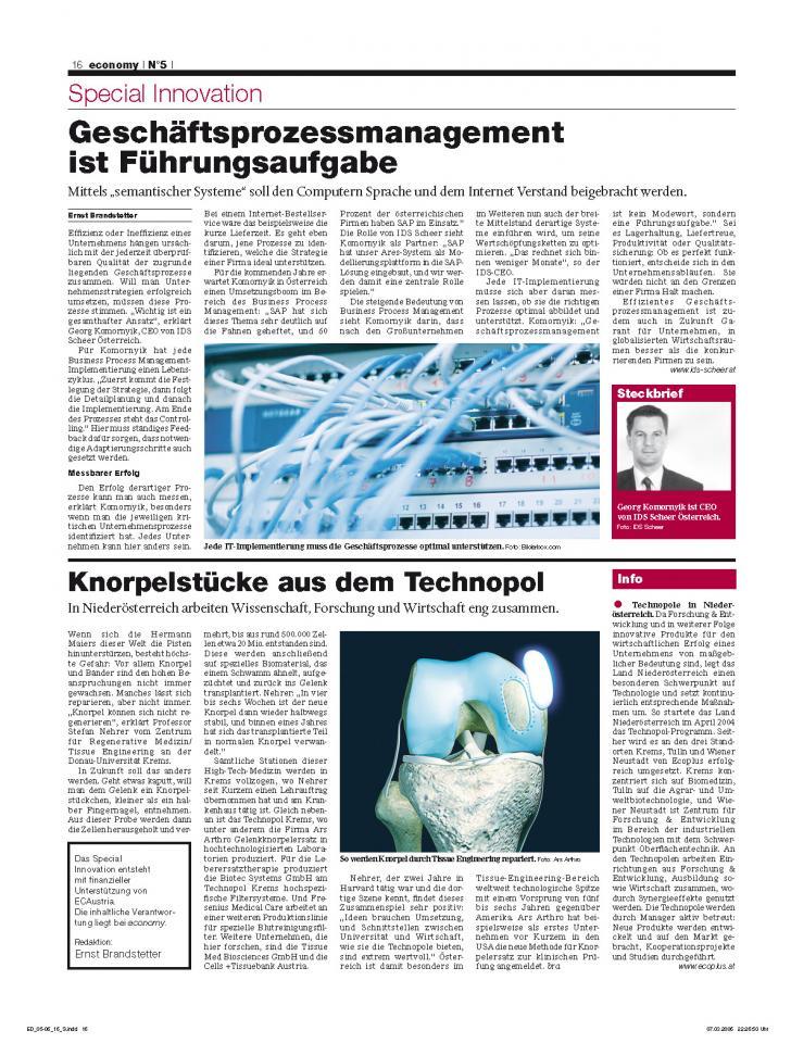 Heft Ausgabe Nr. 05 - Seite 16