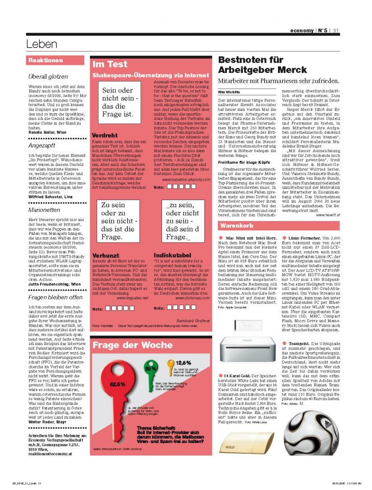 Heft Ausgabe Nr. 05 - Seite 31