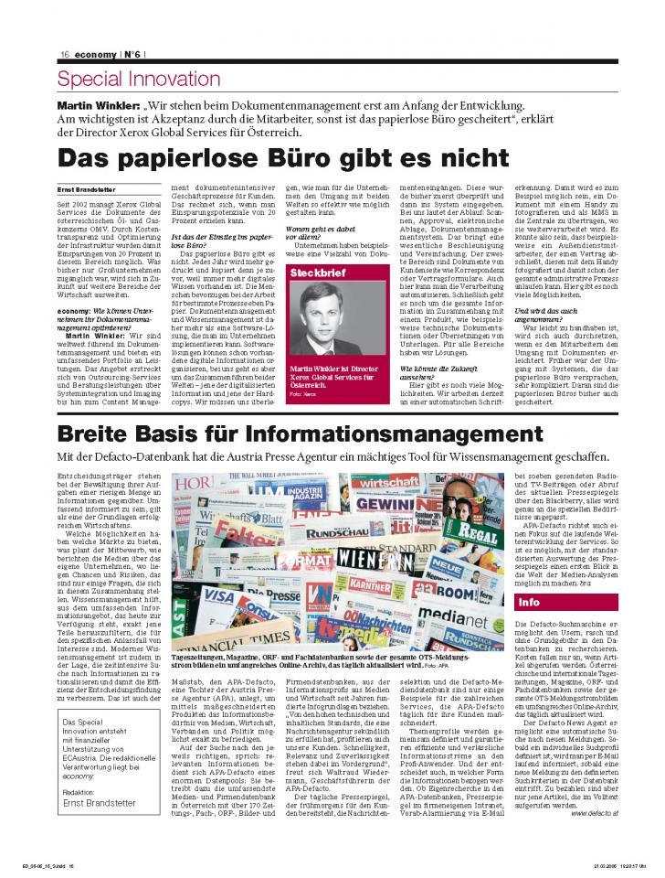Heft Ausgabe Nr. 06 - Seite 16