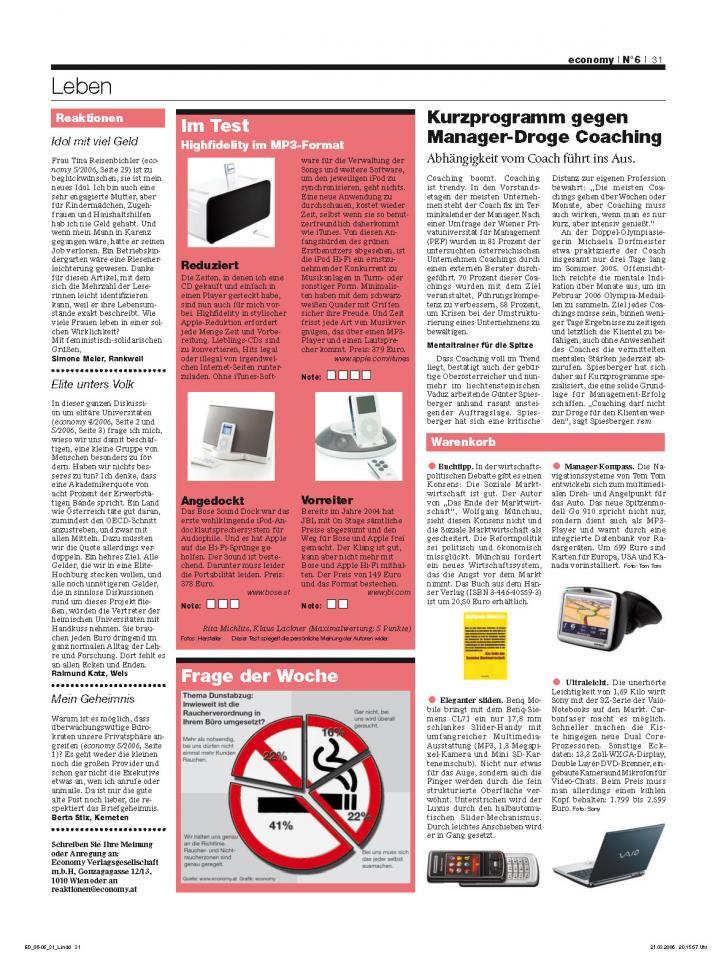Heft Ausgabe Nr. 06 - Seite 31