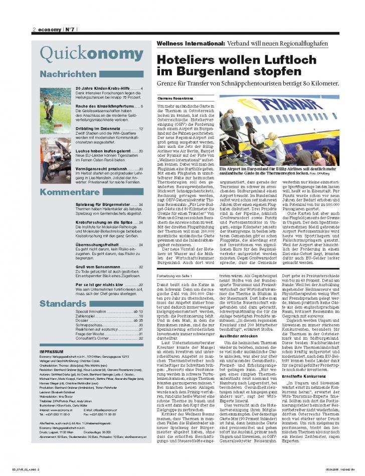 Heft Ausgabe Nr. 07 - Seite 2