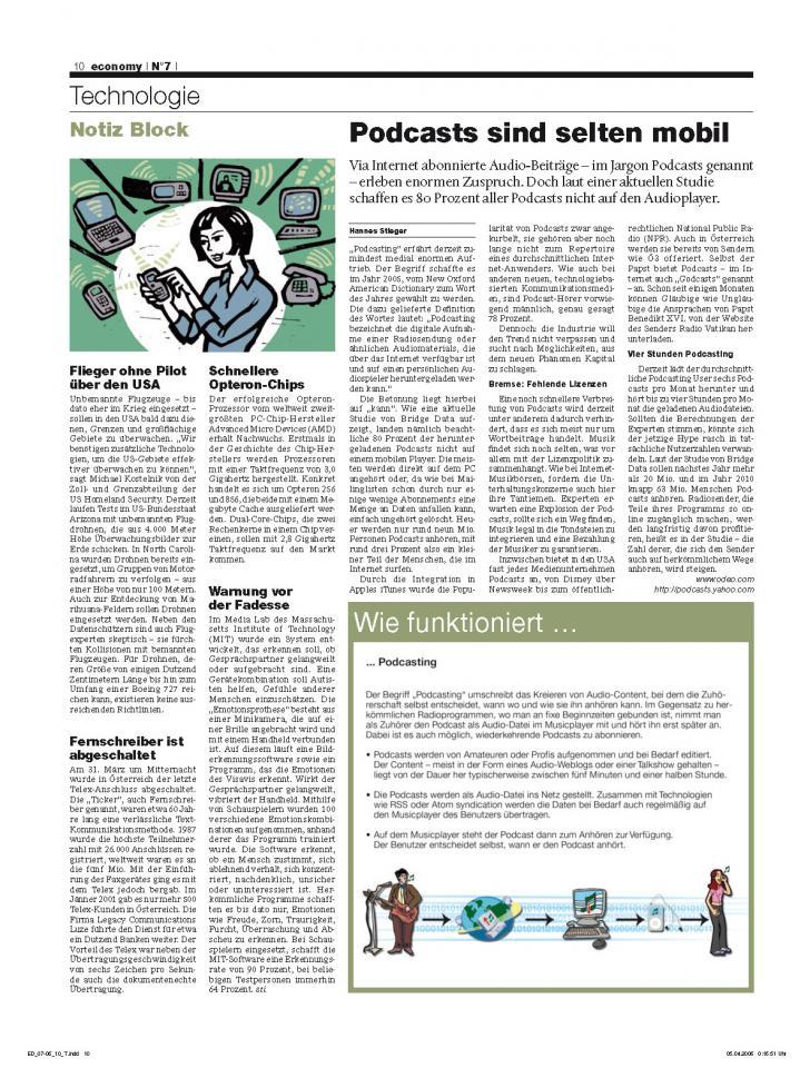 Heft Ausgabe Nr. 07 - Seite 10
