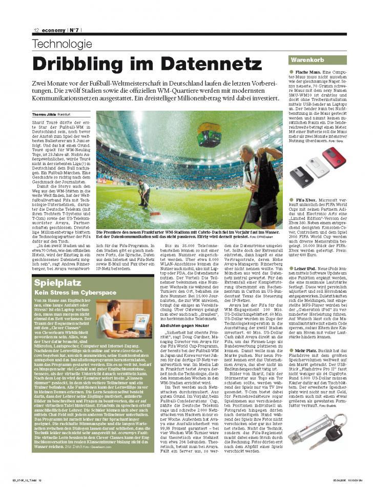 Heft Ausgabe Nr. 07 - Seite 12