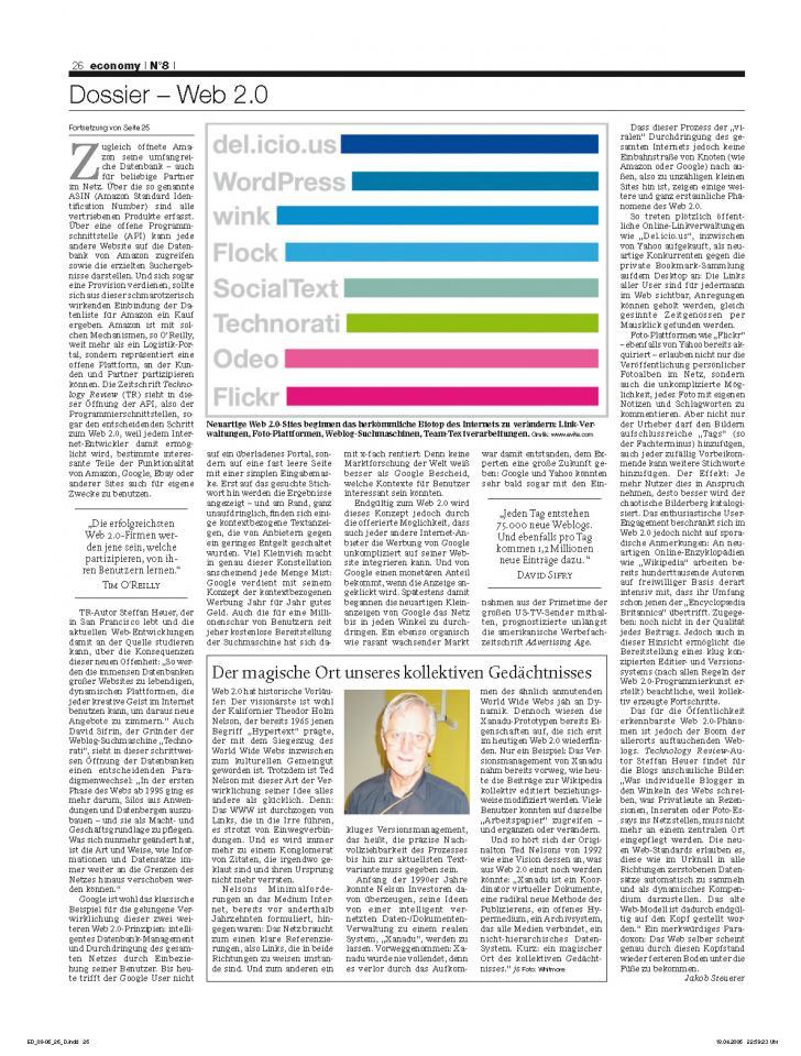 Heft Ausgabe Nr. 08 - Seite 26