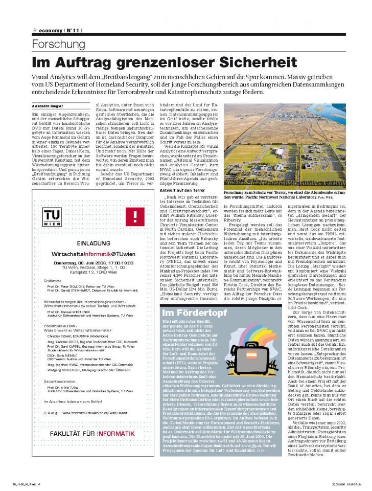 Heft Ausgabe Nr. 11 - Seite 6