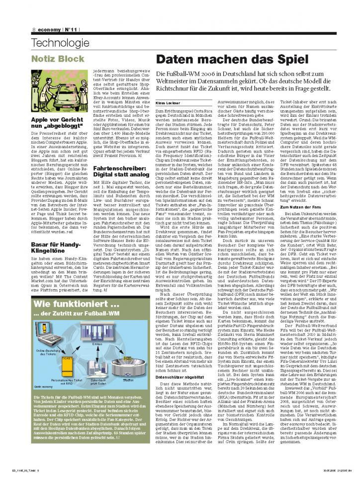 Heft Ausgabe Nr. 11 - Seite 8