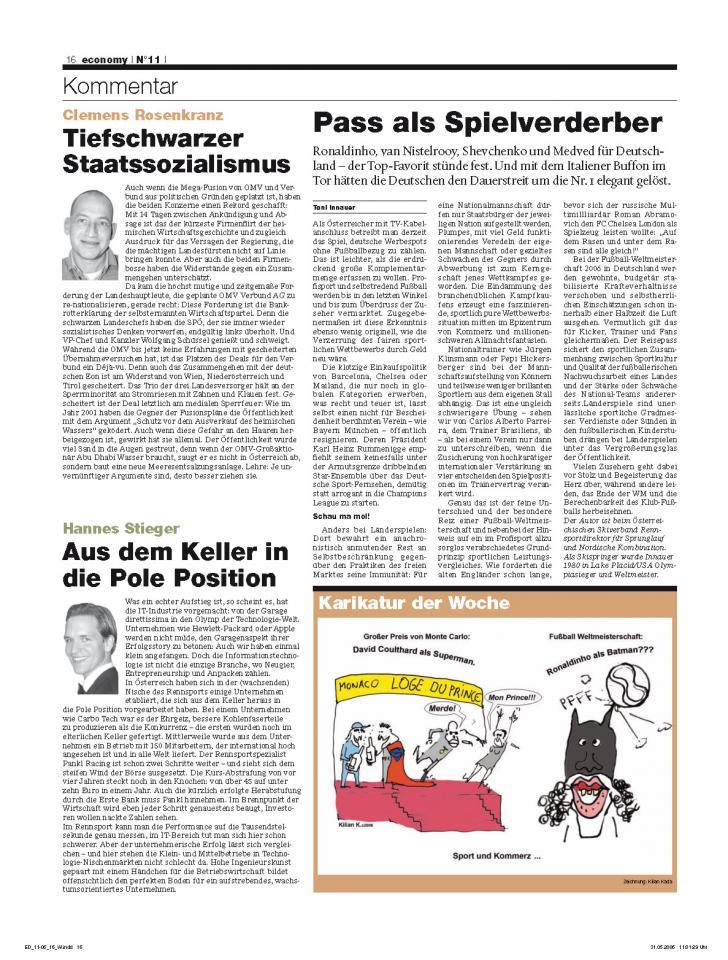 Heft Ausgabe Nr. 11 - Seite 16