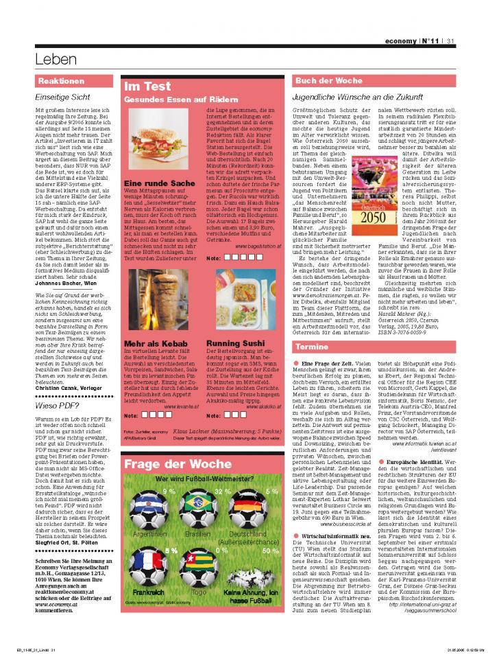 Heft Ausgabe Nr. 11 - Seite 31