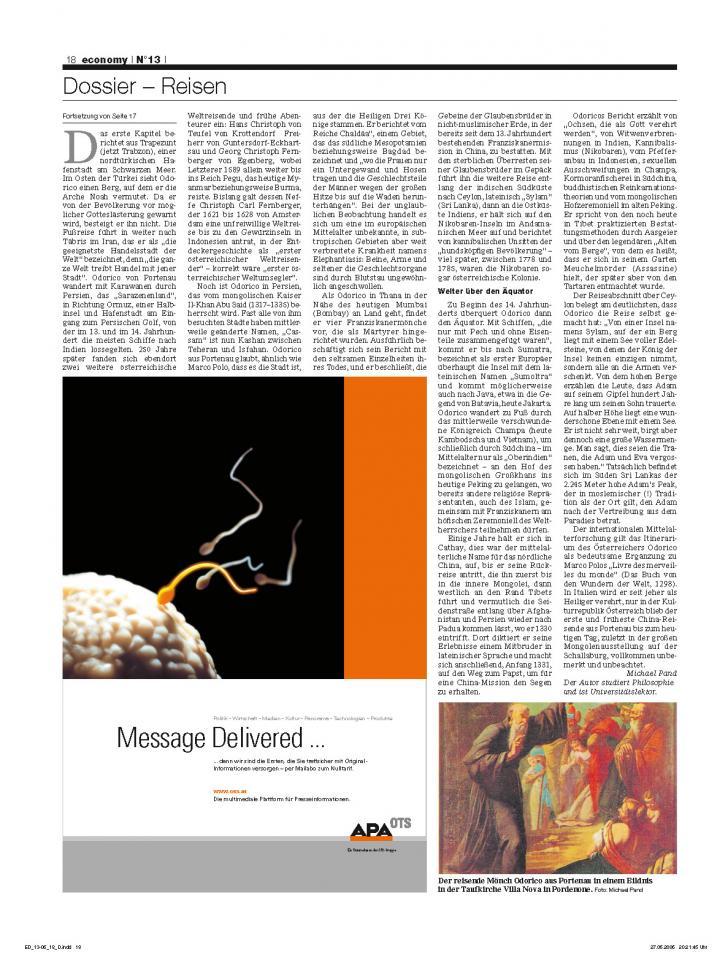 Heft Ausgabe Nr. 13 - Seite 18