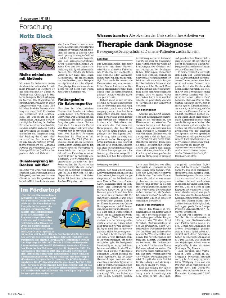 Heft Ausgabe Nr. 15 - Seite 4