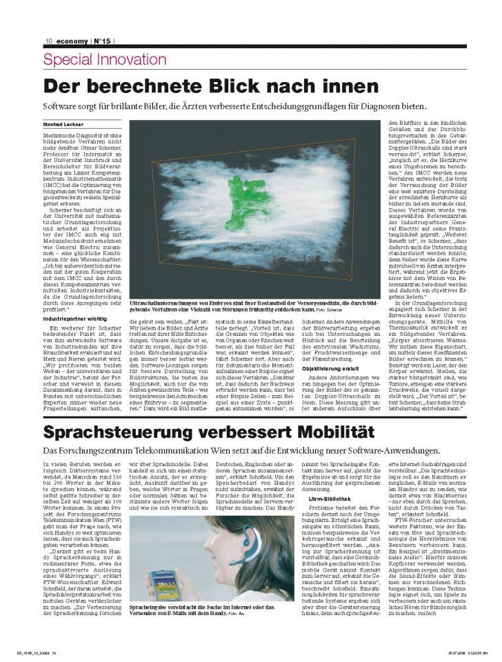 Heft Ausgabe Nr. 15 - Seite 10