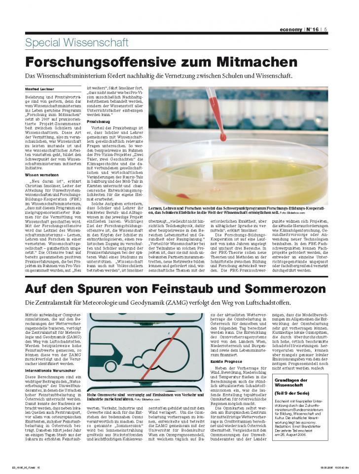 Heft Ausgabe Nr. 16 - Seite 5