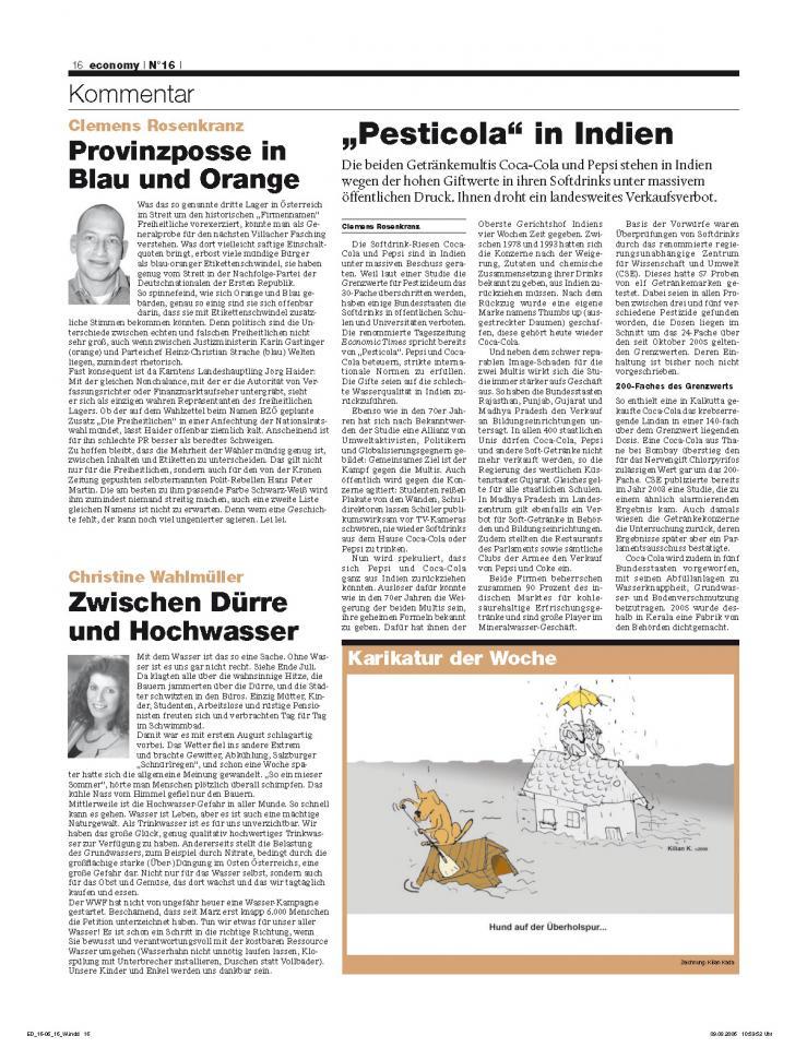 Heft Ausgabe Nr. 16 - Seite 16