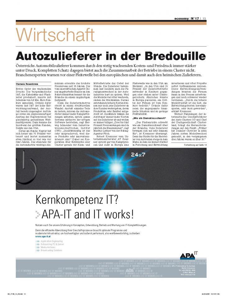 Heft Ausgabe Nr. 17 - Seite 13