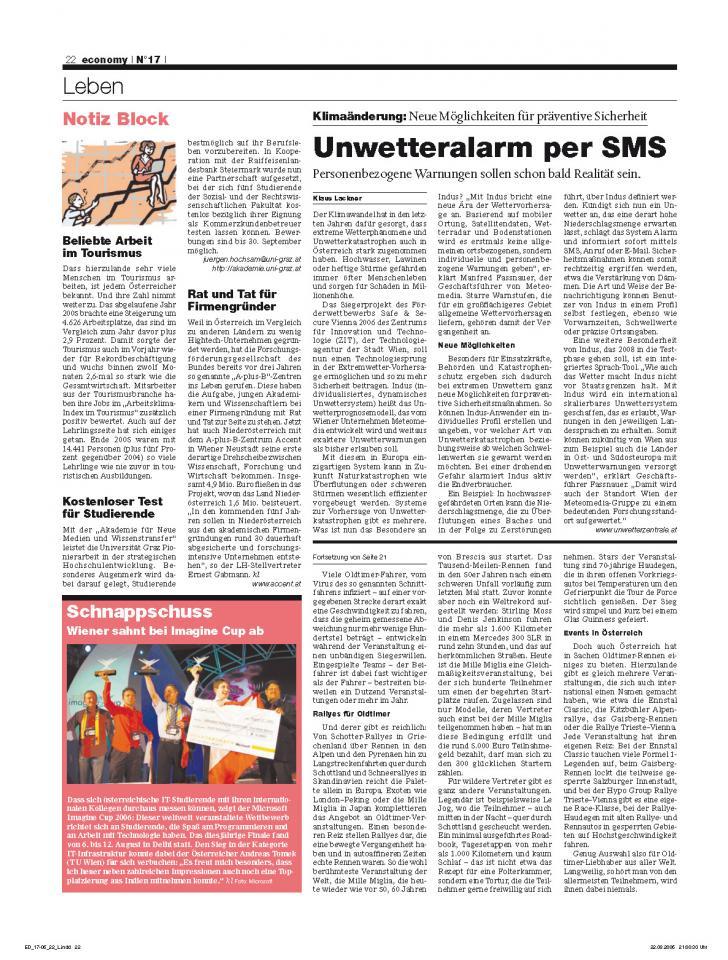 Heft Ausgabe Nr. 17 - Seite 22
