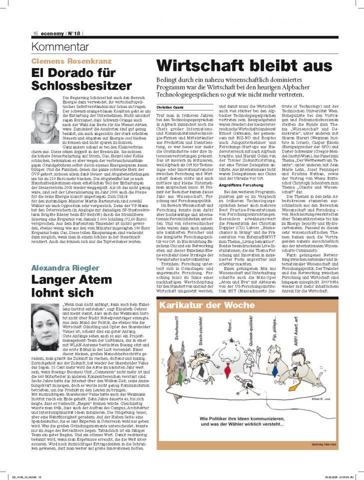 Heft Ausgabe Nr. 18 - Seite 16