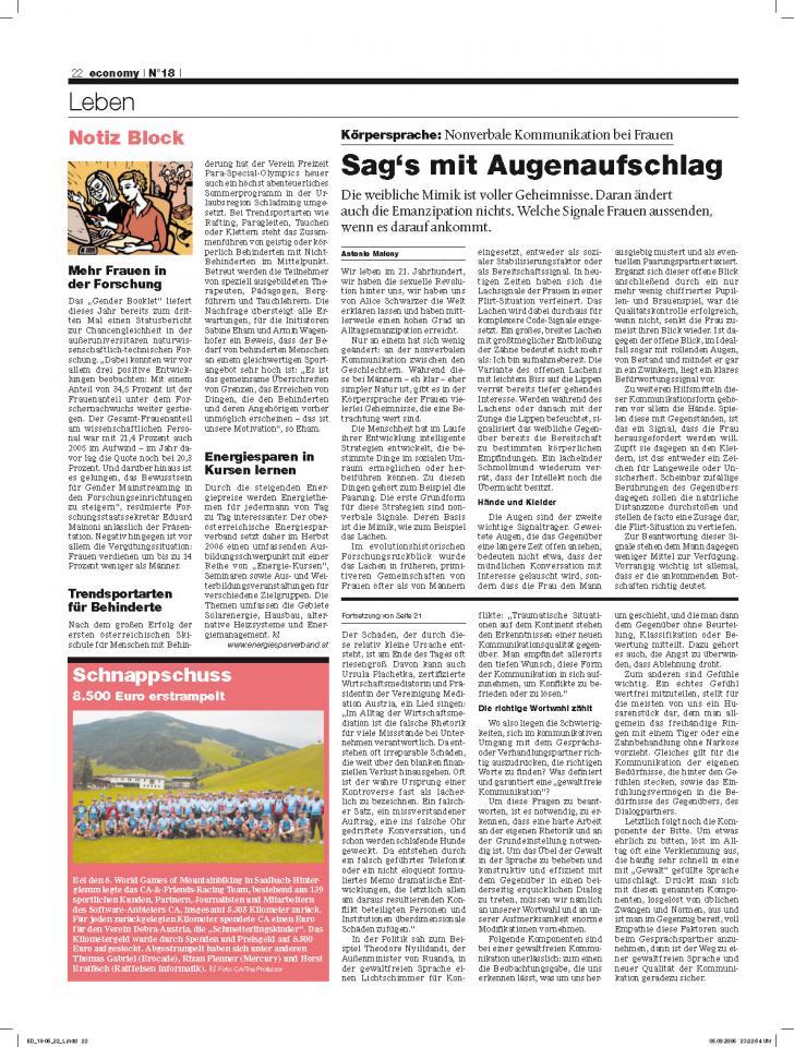 Heft Ausgabe Nr. 18 - Seite 22