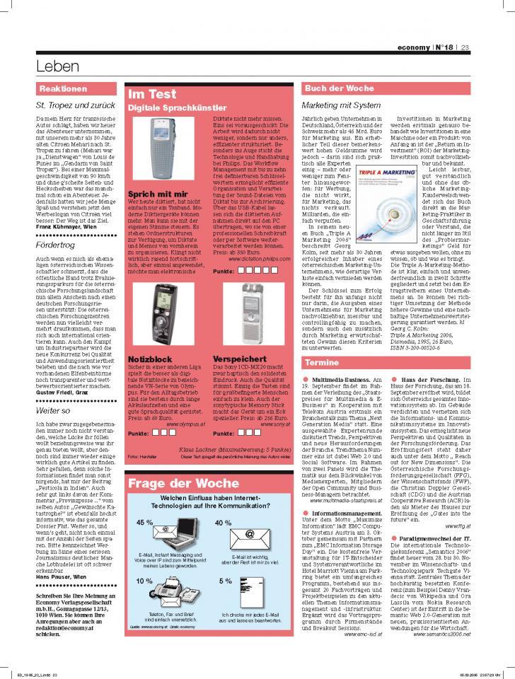 Heft Ausgabe Nr. 18 - Seite 23