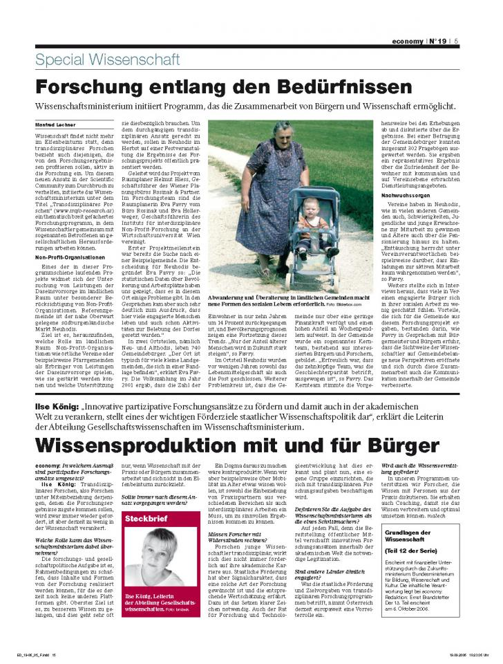 Heft Ausgabe Nr. 19 - Seite 5