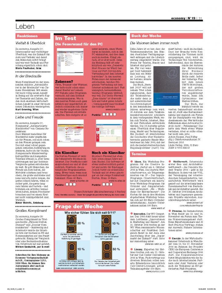 Heft Ausgabe Nr. 19 - Seite 31
