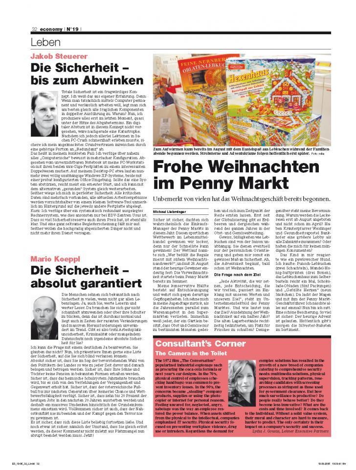 Heft Ausgabe Nr. 19 - Seite 32