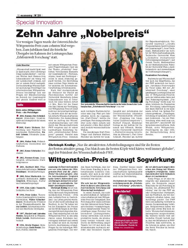 Heft Ausgabe Nr. 20 - Seite 18