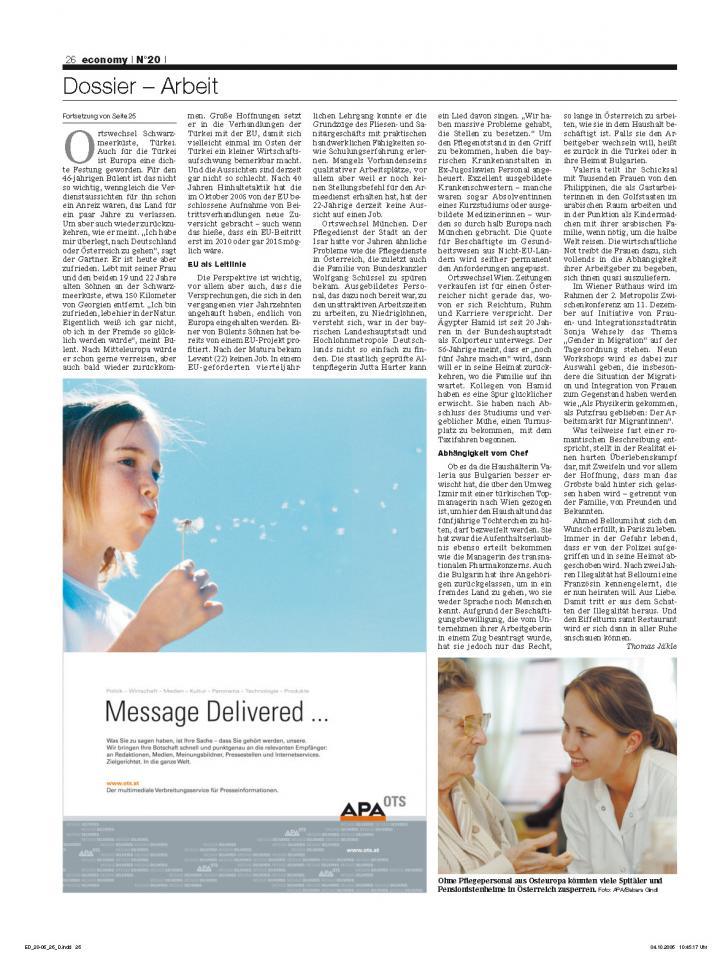 Heft Ausgabe Nr. 20 - Seite 26