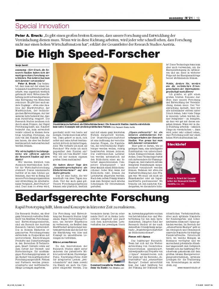 Heft Ausgabe Nr. 21 - Seite 19