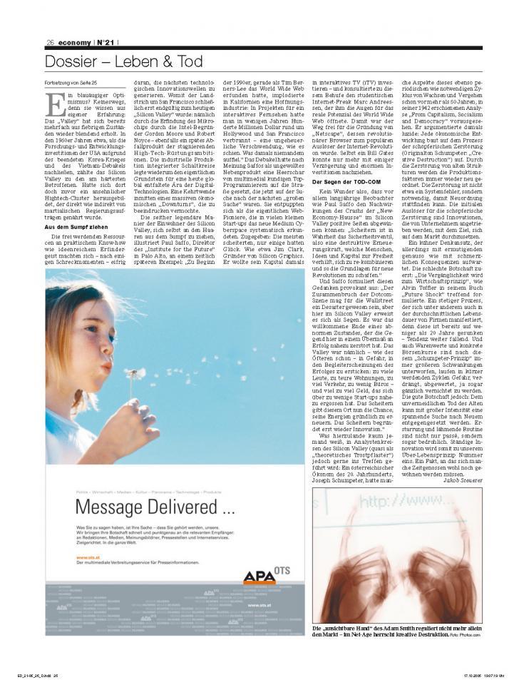 Heft Ausgabe Nr. 21 - Seite 26