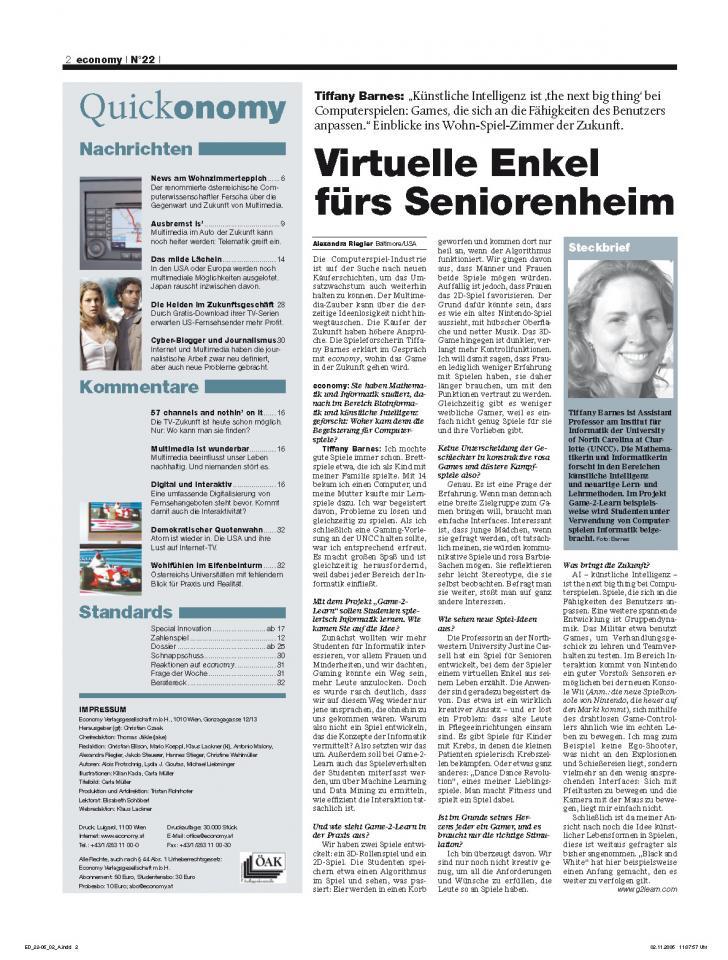 Heft Ausgabe Nr. 22 - Seite 2