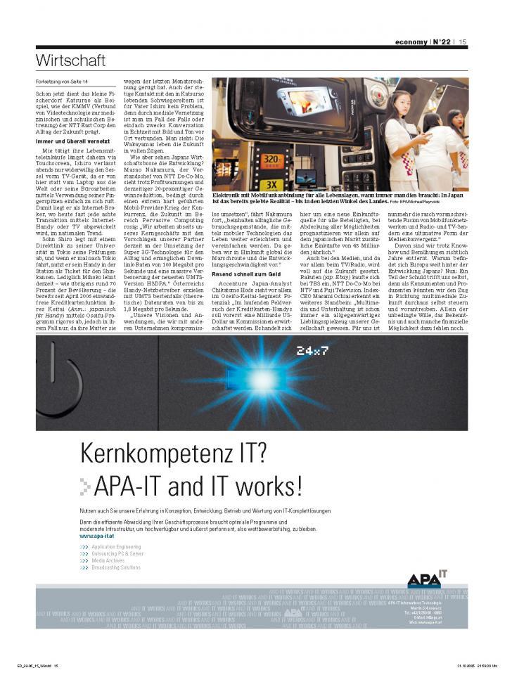 Heft Ausgabe Nr. 22 - Seite 15