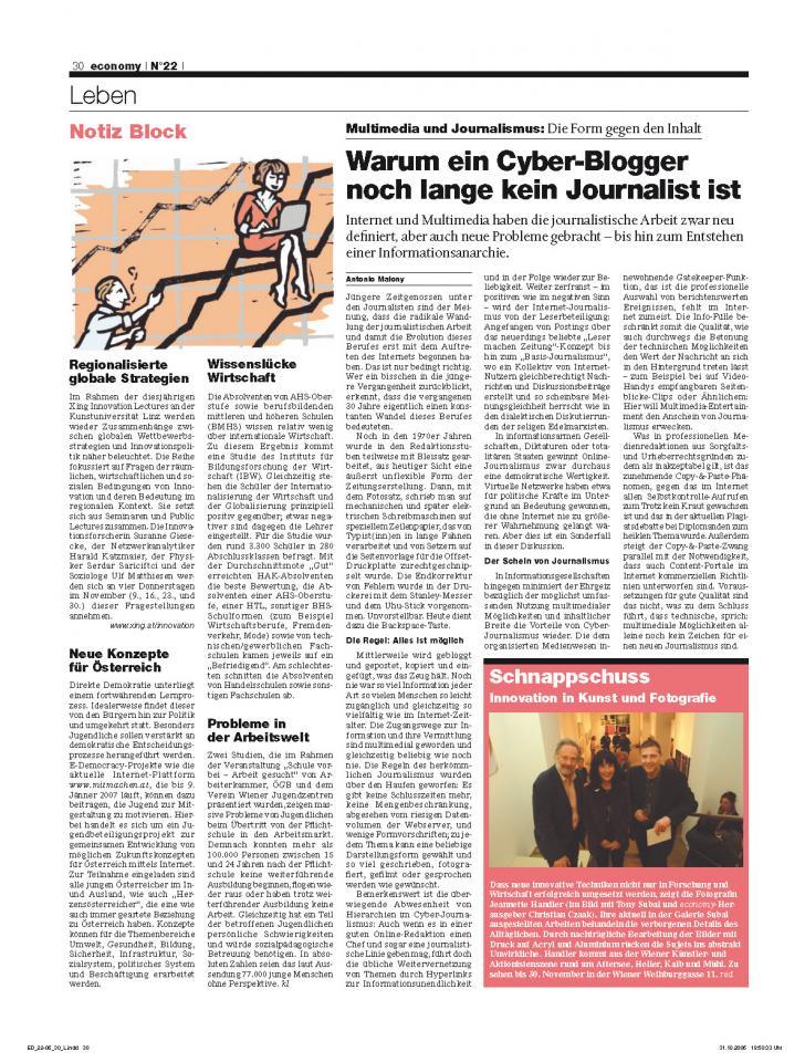 Heft Ausgabe Nr. 22 - Seite 30
