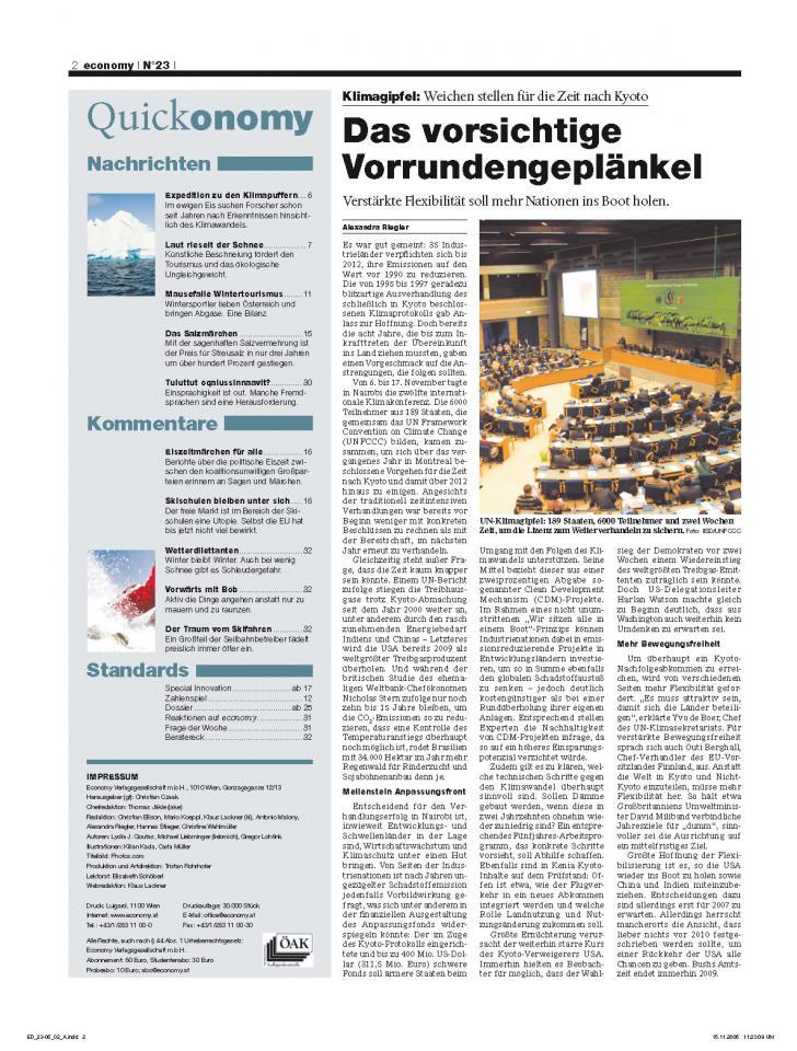 Heft Ausgabe Nr. 23 - Seite 2
