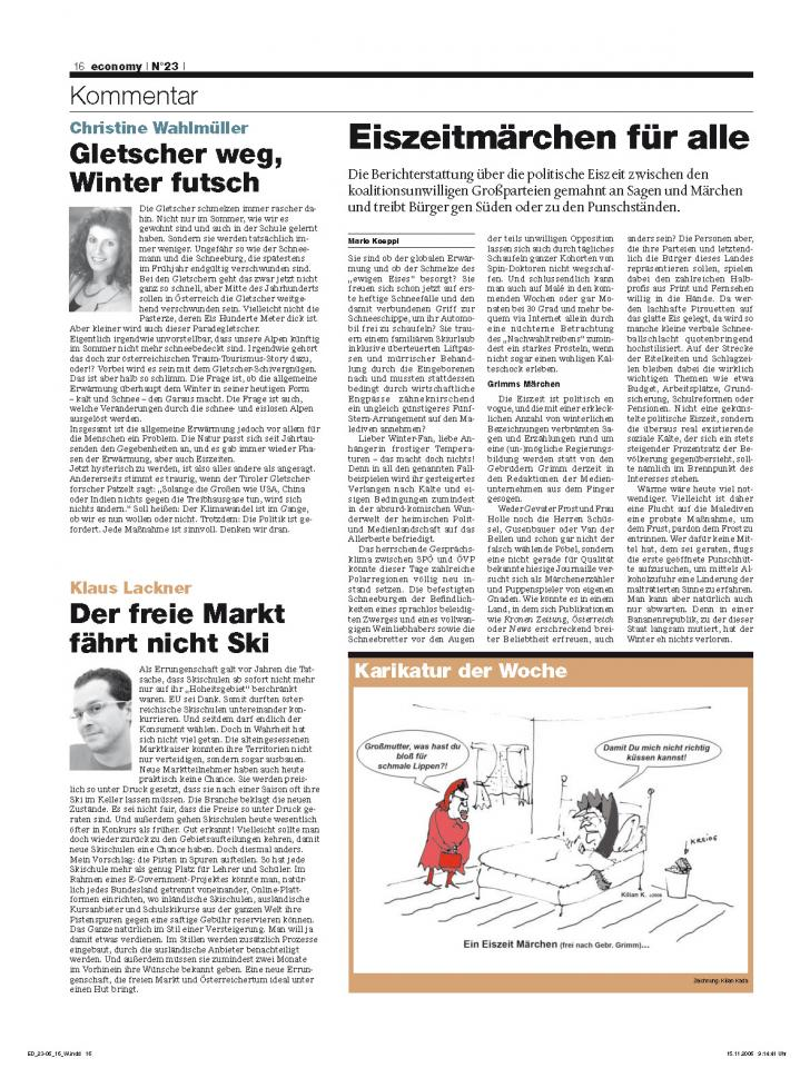 Heft Ausgabe Nr. 23 - Seite 16