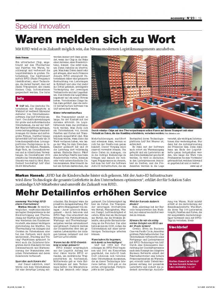 Heft Ausgabe Nr. 23 - Seite 19