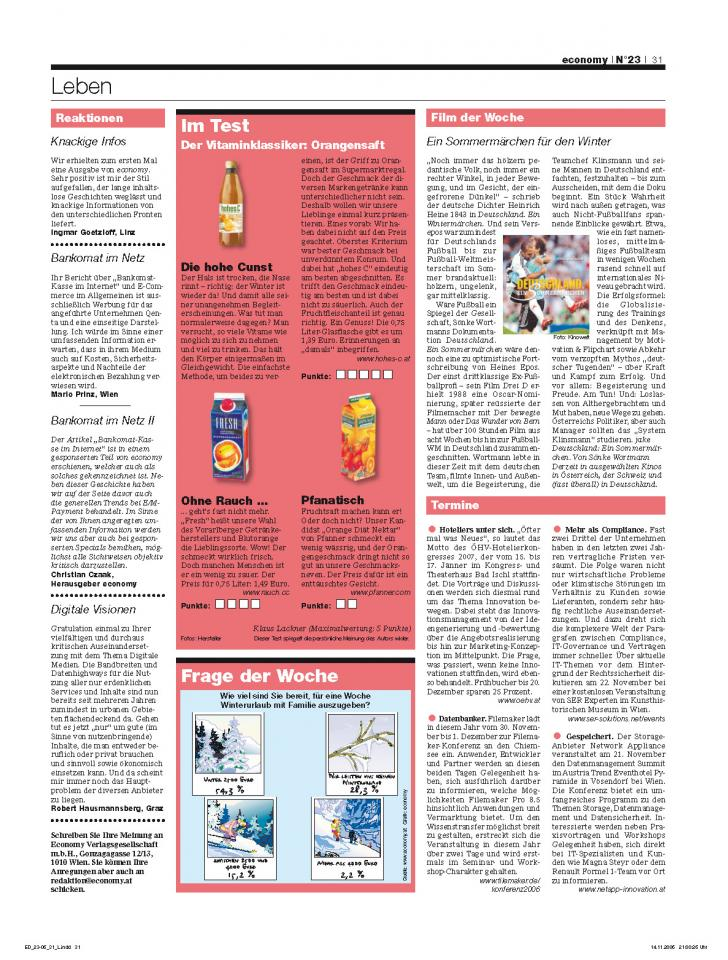 Heft Ausgabe Nr. 23 - Seite 31