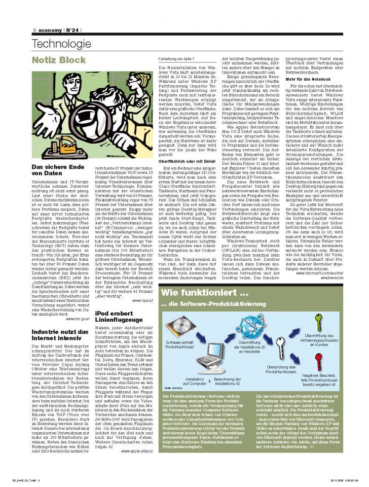 Heft Ausgabe Nr. 24 - Seite 8