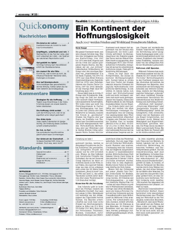 Heft Ausgabe Nr. 25 - Seite 2