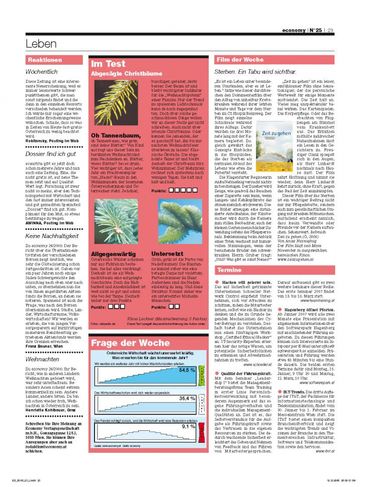 Heft Ausgabe Nr. 25 - Seite 23