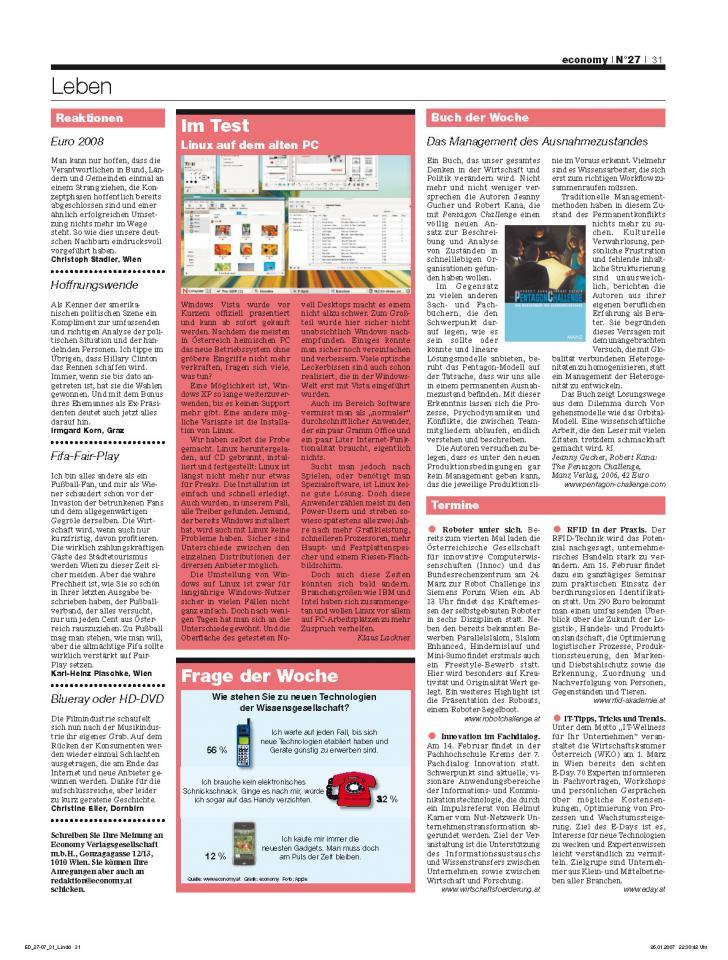 Heft Ausgabe Nr. 27 - Seite 31