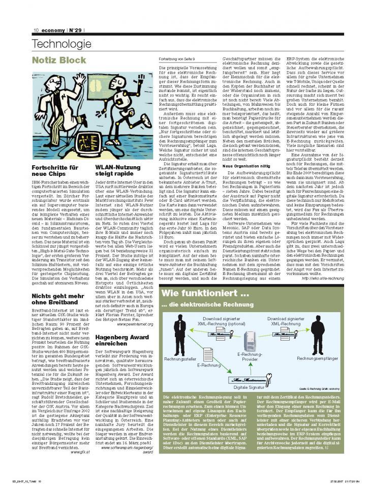 Heft Ausgabe Nr. 29 - Seite 10