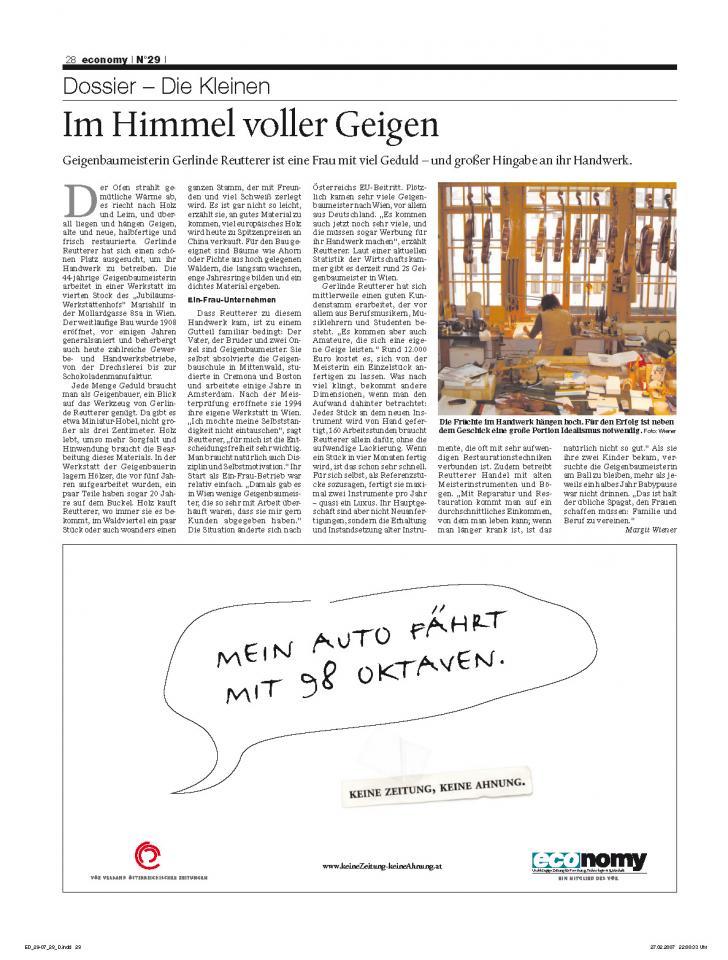 Heft Ausgabe Nr. 29 - Seite 28