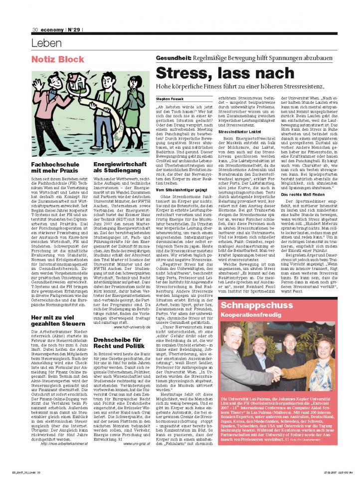 Heft Ausgabe Nr. 29 - Seite 30